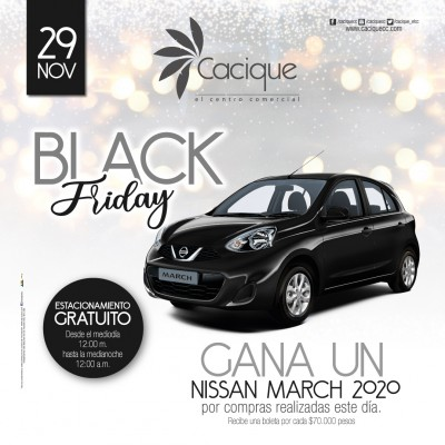 foto de VIVE EL BLACK FRIDAY EN CACIQUE